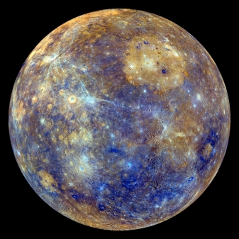 Mercury-false color