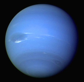 Neptune taken by Voyager 2 in 1989