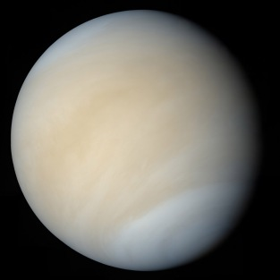Venus taken by Mariner 10